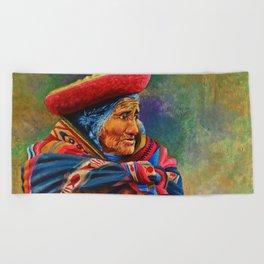 Las marcas del Cuzco Beach Towel