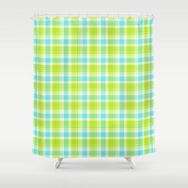 Summer Picnic Plaid 7 Shower Curtain