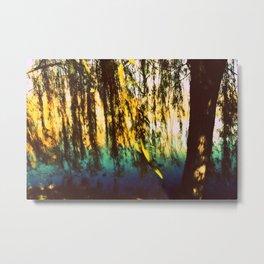 Weeping Willow Metal Print