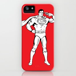 Faster Than A Speeding Bullet iPhone Case