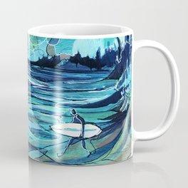 Surf Check Coffee Mug