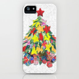 Santa's Work is Done iPhone Case