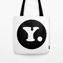 The Letter Y. Tote Bag