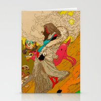 mother Stationery Cards featuring MOTHER by kasi minami