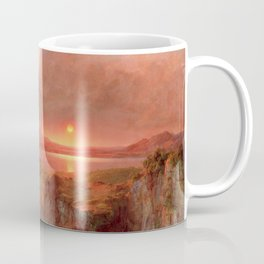 Frederic Edwin Church - Eruption at Cotopaxi - Hudson River School Oil Painting Coffee Mug