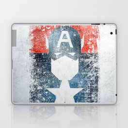 Yankee Captain grunge superhero Laptop & iPad Skin