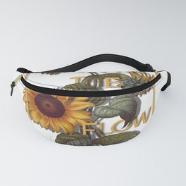 Grow With The Flow Fanny Pack