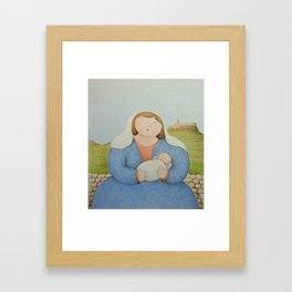 The Citadel Madonna Framed Art Print