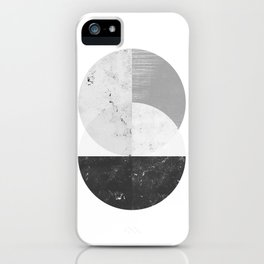Abstract Circle  iPhone Case