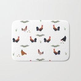 Jungle Fowl Bath Mat