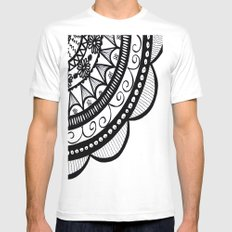 Unordinary doodle Mens Fitted Tee White MEDIUM
