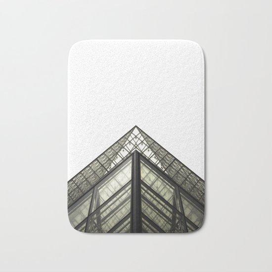 Abstract Louvre Bath Mat