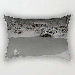 Winter Retreat Rectangular Pillow