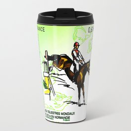 2014 FEI World Equestrian Games in Normandy Eventing Riding Travel Mug