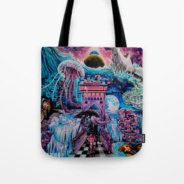 Dreams in digital Tote Bag
