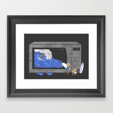 Microwave Framed Art Print