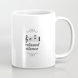 Anxious/relaxed silence Coffee Mug