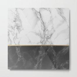 Marble #4 Metal Print