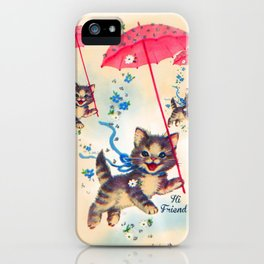 Kitty Friends iPhone Case