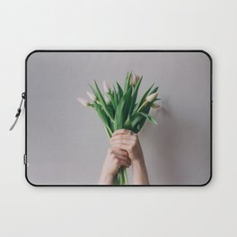 Yay Tulips! Laptop Sleeve