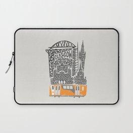 Glasgow Cityscape Laptop Sleeve