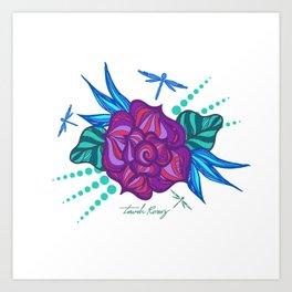 Flowers Ninfa Art Print