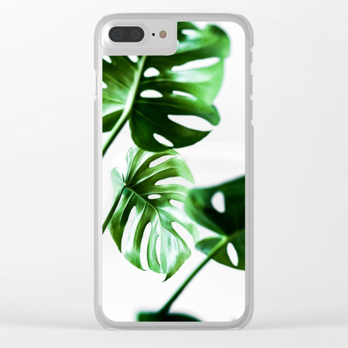 Monstera 4 Clear iPhone Case