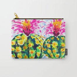 Crazy Hair Day Cactus Carry-All Pouch