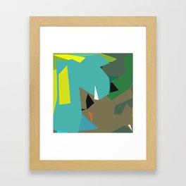 Three eyes Framed Art Print
