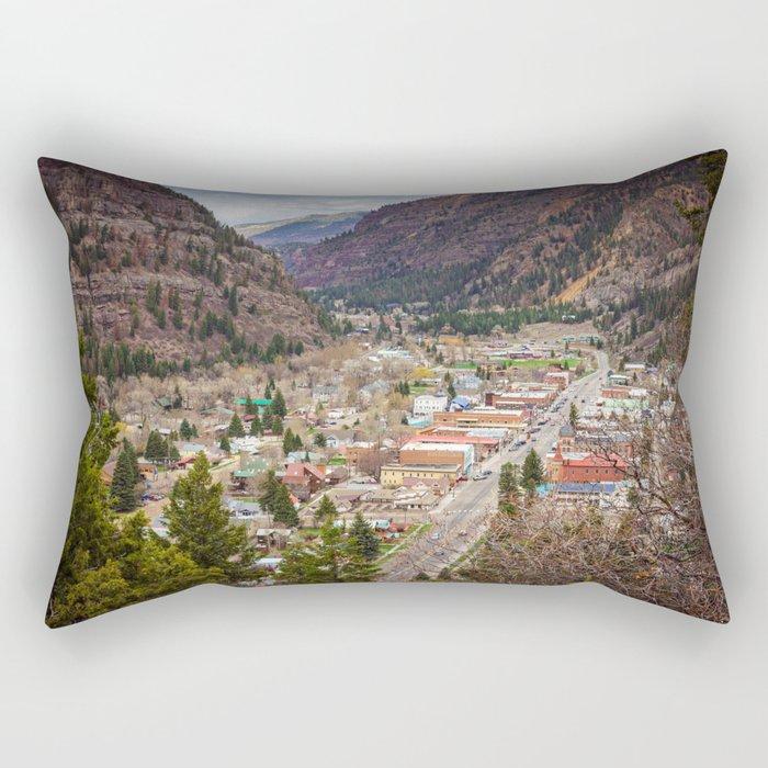 Ouray Colorado Rectangular Pillow
