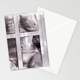 Behind The Window Stationery Cards