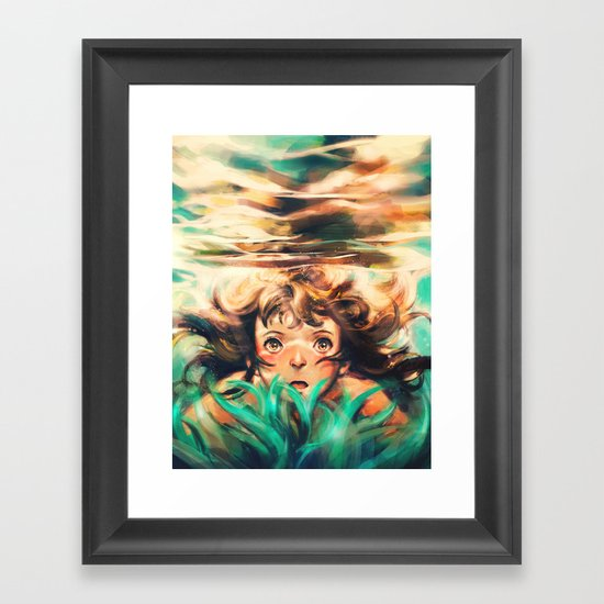 The River Framed Art Print