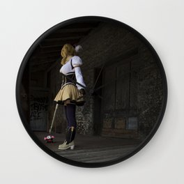 Sorry to rain on your parade, but I'm going to finish you off right here! Wall Clock