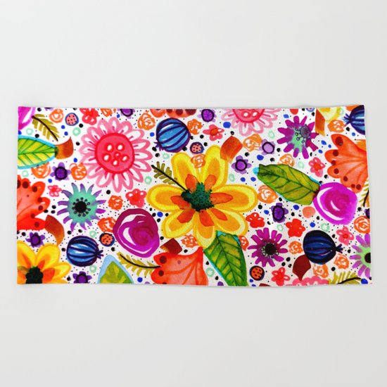 calypsooo Beach Towel