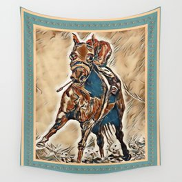 """""""Race Time"""" Wall Tapestry"""