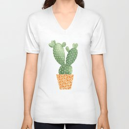 Cactus Best Friends - Prickly Pear Unisex V-Neck