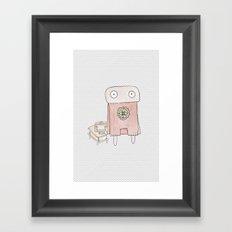 Superheros Framed Art Print