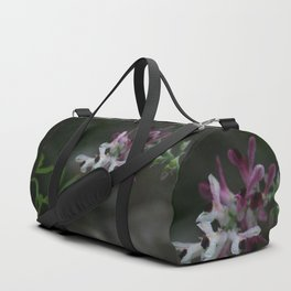 Earth Smoke Flower Duffle Bag