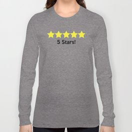 5 Stars! Long Sleeve T-shirt