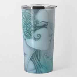 Spirit of Artemis 2 Goddess Art Travel Mug