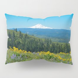 Mount Hood from Tom McCall Preserve Pillow Sham