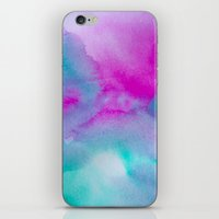 aurora iPhone & iPod Skins featuring Aurora by elena + stephann