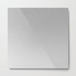 Concrete Dot Gradient Metal Print