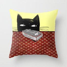 Kitty Throw Pillow