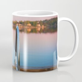 Summer evening by the lake Coffee Mug