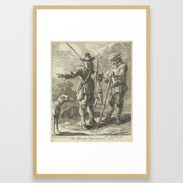 Jager, Petrus Johannes van Reysschoot, after David Teniers, 1712 - 1772 Framed Art Print