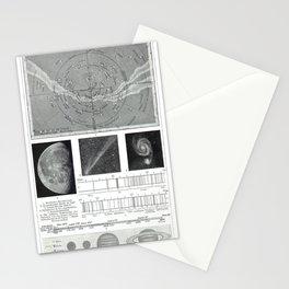 Meyer's Blitz-Lexikon - German Visual Dictionary (1932) - The Heavens Stationery Cards