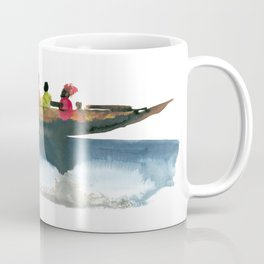 Floating village Coffee Mug