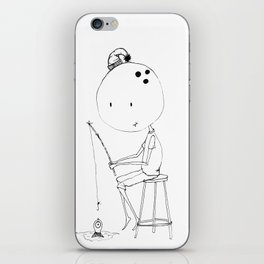 Bowl head iPhone Skin