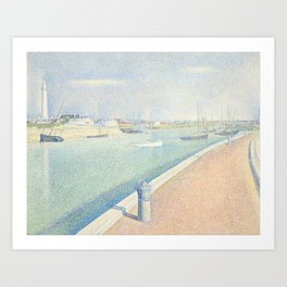 The Channel of Gravelines, Petit Fort Philippe Art Print
